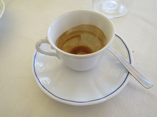 this caffè ....and the many others we drank in a short 36hours