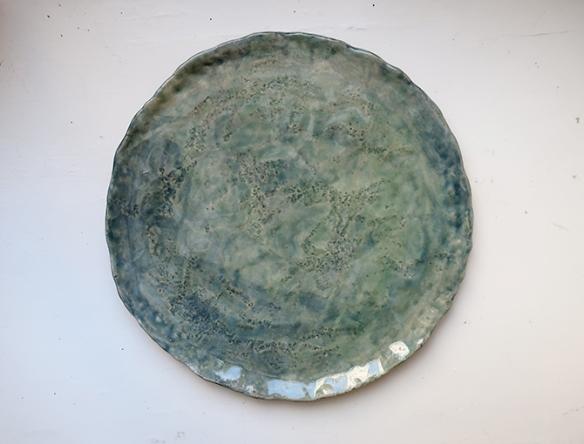 Teller / blau-grün / ø ca. 20 cm / 45.- Fr.
